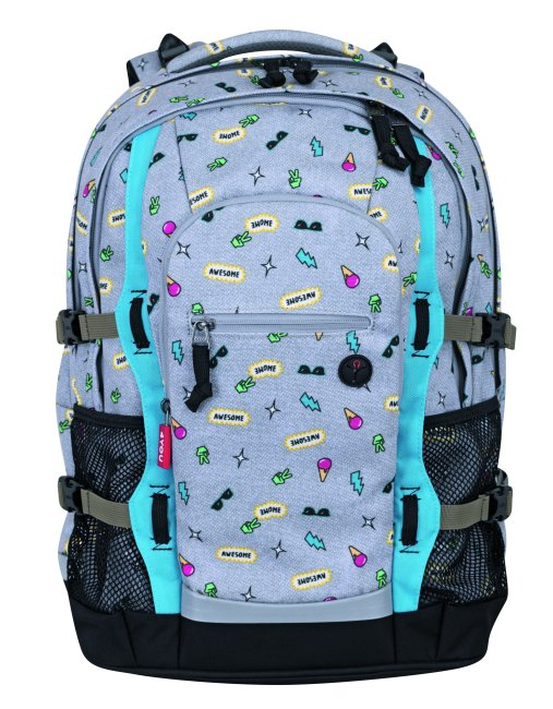 a9aa63df17fab SCOUT(Y) 4YOU Sac à dos scolaire Jampac Jampac Awesome